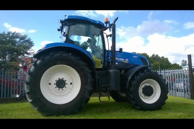 New Holland T7 235 AC » Agricultural Tractors » Used