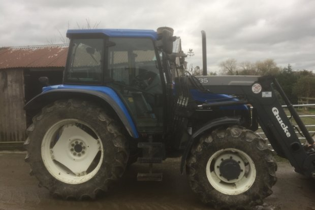 New Holland TS110 » Agricultural Tractors » Used Machinery - Teme