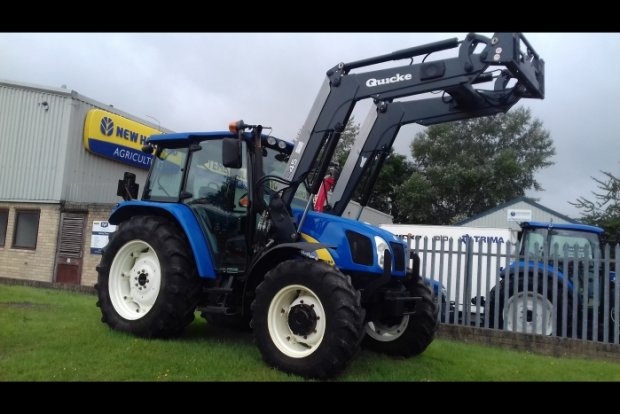 New Holland T5050 » Second Hand » Agricultural Tractors